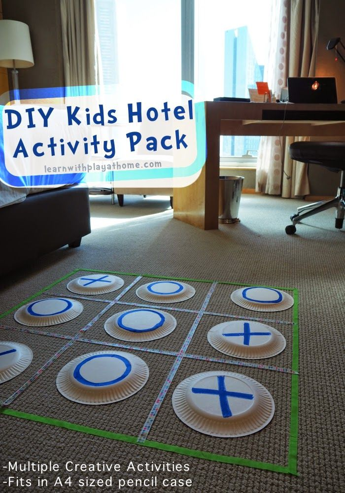 Diy kiddy hotel activities travel game solutioingenieria Image collections